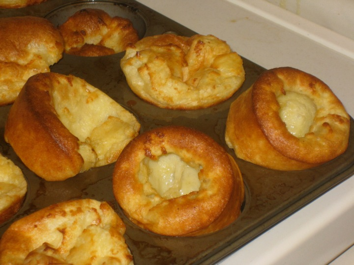 Cooking: Popovers (Yorkshire Pudding)