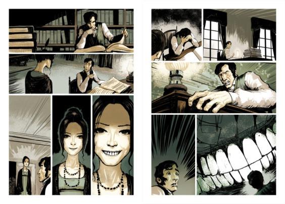 From an Italian Comic