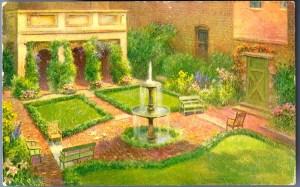 Edgar Allan Poe Museum Garden
