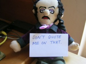 "Image Unavailable; Humor from ""World of Poe"""
