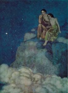 """""""Al Aaraaf"""" by Edmund Dulac"""