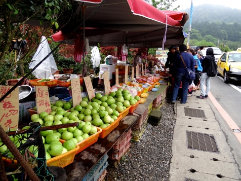 Fruit was very, very cheap, and very, very delicious in Taiwan.