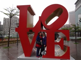 At four years together, N J and I are still going strong as a couple. There is no one I;d rather be with. (Taipei)