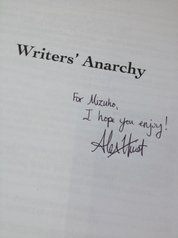 I gave away my very first autograph.
