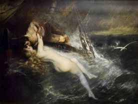Gustav_Wertheimer_-_The_Kiss_of_the_Siren_(1882)
