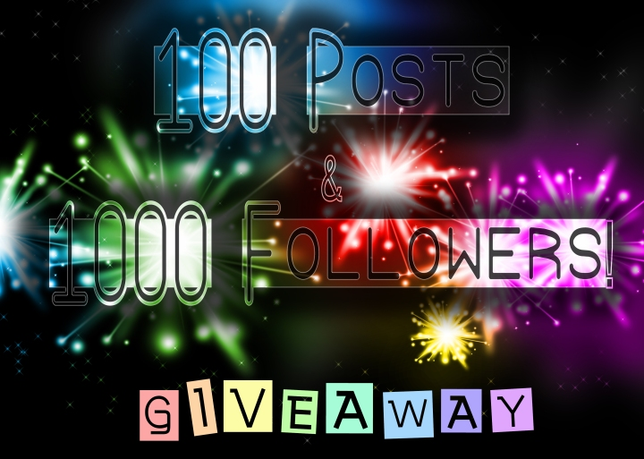 100 Posts & 1,000 FollowersToday!