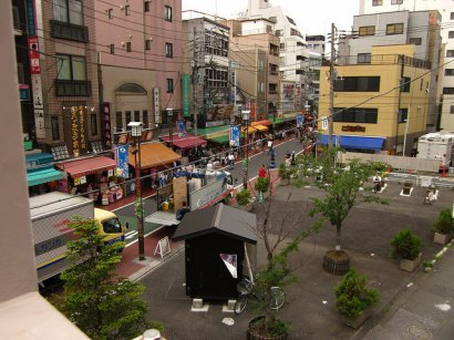 """Sugamo, affectionately referred to as """"Old Lady Town"""" by most of the people I've met all over Japan."""