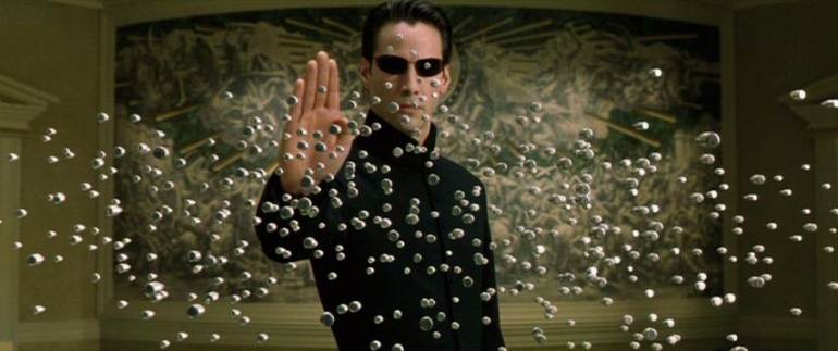 Neo, the most famous rendition of The Chosen One cliché. While Neo suffers from almost non-existant character development, in the story-driven web of the Matrix's universe, he remains an intensely familiar icon.