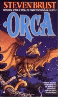 Granted, walking around with two jhereg on your shoulders is not the best disguise for an ex-assassin wanted all over the Empire. But a young boy saved his life and then needs help, Vlad Taltos pays his debt--even if it means uncovering a financial scandal big enough to bring down the House of the Orca and the entire Empire.