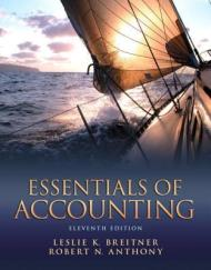**Reading this one for a possible Graduate Studies course at Simon Fraser University in Vancouver, for Publishing! Crossing my fingers I get in!** Essentials of Accounting is a self-teaching, self-paced introduction to financial accounting for active users of business data - rather than preparers of accounting information (bookkeepers). It presents the ideas and terminology essential to an understanding of balance sheets, income statements, and statements of cash flows. Every frame requires students to solve a problem involving accounting information - e.g., selecting a correct word from two choices, providing an answer, making a journal entry, or preparing a complete balance sheet.