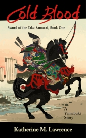 """Ever kill a man?"" The fencing master's eyes searched hers. ""I can see you haven't. That takes cold blood."" Sixteen-year-old Taka Yamabuki, royal by birth, but samurai by training, embarks upon her first mission: to deliver important dispatches to the capital. Untested and traveling alone for the first time in her life, Yamabuki encounters a vivid tapestry of natural beauty, unusual characters, unexpected friendships, and indiscriminate brutality and violence. But an unknown assassin dogs her trail. And before she knows it, her life hangs in the balance. A lyrical novella of adventure, young love, and self-discovery, Cold Blood brings alive the experience of a young woman warrior in 12th-century Japan."
