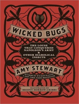 "In this darkly comical look at the sinister side of our relationship with the natural world, Stewart has tracked down over one hundred of our worst entomological foes—creatures that infest, infect, and generally wreak havoc on human affairs. From the world's most painful hornet, to the flies that transmit deadly diseases, to millipedes that stop traffic, to the ""bookworms"" that devour libraries, to the Japanese beetles munching on your roses, Wicked Bugs delves into the extraordinary powers of six- and eight-legged creatures. With wit, style, and exacting research, Stewart has uncovered the most terrifying and titillating stories of bugs gone wild. It's an A to Z of insect enemies, interspersed with sections that explore bugs with kinky sex lives (""She's Just Not That Into You""), creatures lurking in the cupboard (""Fear No Weevil""), insects eating your tomatoes (""Gardener's Dirty Dozen""), and phobias that feed our (sometimes) irrational responses to bugs (""Have No Fear""). Intricate and strangely beautiful etchings and drawings by Briony Morrow-Cribbs capture diabolical bugs of all shapes and sizes in this mixture of history, science, murder, and intrigue that begins—but doesn't end—in your own backyard."