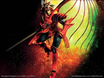 After a Black Monster destroys his hometown of Neet and kills his parents, Dart (from the game Legend of Dragoon) begins a quest to find the monster and avenge his family. Along the way, he meets mentors, helpers, healers, and the like, in a classic Hero's Journey.