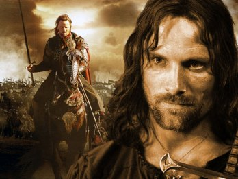 Again, not much needs to be said here. The Hero archetype tends to repeat itself with little variation, which is why it is also known as the monomyth (Joseph Campbell). Aragorn must rises to action to defeat the evil threatening his world, but in doing so, he must also accept the crown he has always run from.
