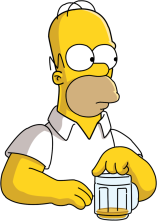 The most famous of the Everyperson, Homer Simpson is the guy next door, the good old guy, the common, white-collar man. All are equal in his mind (except maybe Flanders). Self-pity plagues him in his weaker moments, but in general, Homer's humor and unassuming nature ensure he will always have a friend to lean on.
