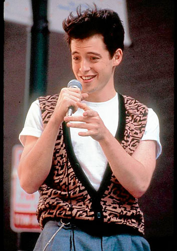 "When a whole town loves to encourage your misbehavior, you know you're breaking all of the right rules. Ferris Bueller's one flaw is that he is terribly inconsiderate towards his friends, all in the name of ""fun"" and his personal pursuit of happiness."