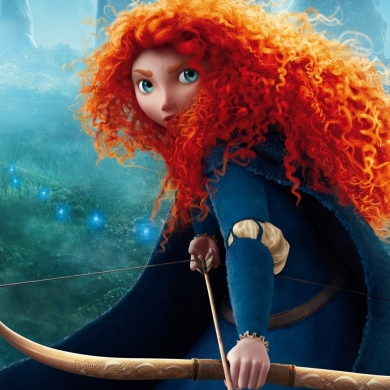 So fringe she is often forgotten in the Disney Princess lineup, Merida doesn't have the glittery dress, the manners, or the quest for love common with so many princesses.