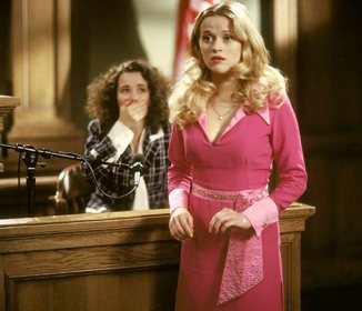 Not quite the lawyer you're looking for, Elle Woods rejects the status quo with her pink, bubbly personality, shaking up the often dower, serious world of trial attorneys.