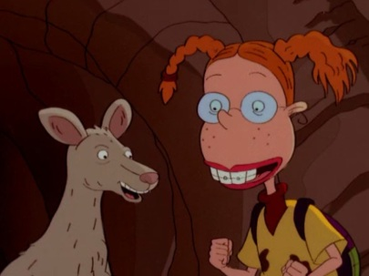 In this quite literal representation of the archetype, Eliza is part of a family whose very job is to explore the wilds and go on safari. Her inability (or her brother's) to follow structure and rules was generally the premise of each episode, but she had to learn to work with others (even her sister) to get through each challenge.