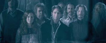 There are far too many of these characters to mention here. Harry Potter's mother, father, Hagrid, Dumbledore, Snape, Sirius, the Weasley Family, McGonagall, etc... All offer some sort of support and emotional stability when Harry needs it most, even though nearly all of them end up martyred for their effort.
