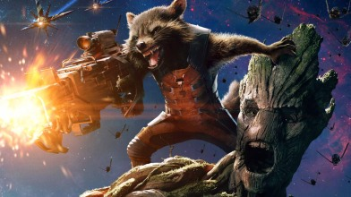 Rocket Raccoon, an abused science experiment, is out for revenge and personal gain, keeping an arm's distance from everyone but Groot, his longterm sidekick.