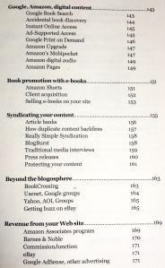 Plug Your Book! Steve Weber Contents