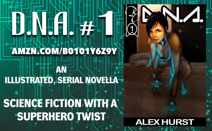 D.N.A. Novella Released!