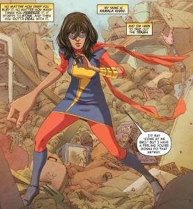 Kamala Khan from Ms. Marvel - Jester Archetype