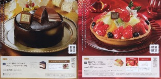 Chocolate and Fruit Cake. #L-01, #L-02