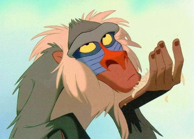 Advisor to the line of kings, Rafiki is a bit eccentric and at the best of times, not all that influential. His wisdom is overshadowed by the day-to-day struggles of the Sahara, but it is his eventual confrontation with Simba that sends the young lion back to save his pride.