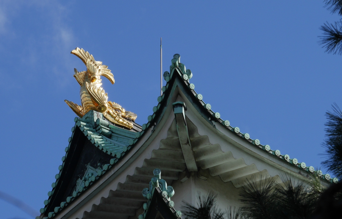 Golden Dolphins of Nagoya Castle