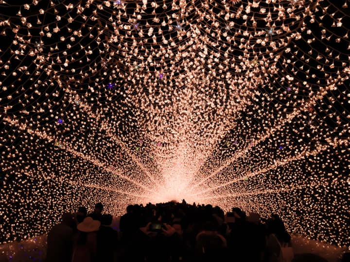 Tunnel of Light inNabana