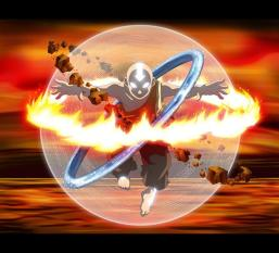 Most of Aang's journey is about his transformation into a Magician, and the powers that would control him when he achieves that state. However, his journey is a deeply personal one, rooted in a need to transform himself and connect with the energies of the Earth.