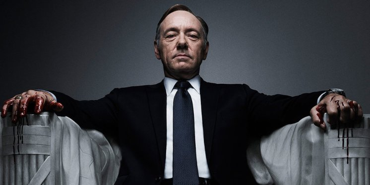 Fascinating and terrifying, Frank Underwood is the modern Magician--shifting pawns and creating power out of nothing. Ruthless in his quest to transform himself, Underwood is masterful is his guise as a person of charisma and a catalyst for others, while harboring a deep, harmful need to simply satisfy himself.