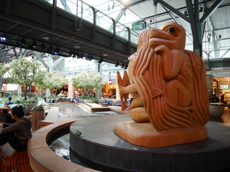 YVR Haida Art - Vancouver Intl Airport