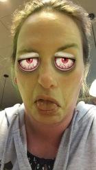 Snapchat: sick emoji frankenstein