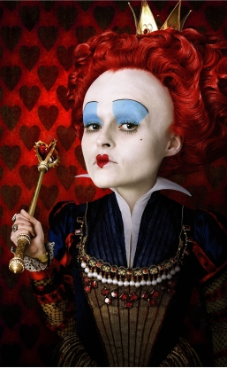 The Red Queen learned long ago that to rule a place like Wonderland, you have to do so with sheer terror. Decapitations, bizarre game rituals, her court has it all--and I'm sure if you asked her, she'd tell you her way was the very best way.