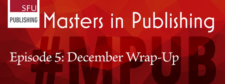 Episode 5: December Wrap-up