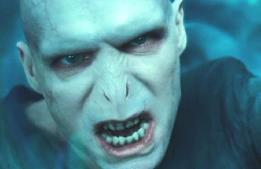 """Ah, Voldemort, seeking to cleanse the impurities from magician bloodlines--corrupted wholly the moment he seizes any sort of power, and unable to be stopped until he nearly destroys the whole of the wizarding world. He is an excellent example of """"absolute power absolutely corrupts."""""""