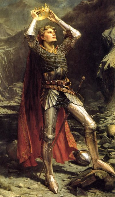 """King Arthur, the original Ruler archetype, must obtain power to bring his kingdom together and overcome the forces that would seek to destroy it. But when his rule is challenged (as in the movie, """"Excalibur,"""" he soon enters shadow, never to return."""