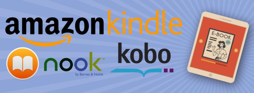 Amazon Kindle Kobo Nook iBooks Apple Barnes & Noble ereaders ebooks